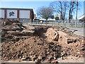 SP3379 : Fairfax Street car park excavations by E Gammie