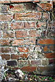 SP8826 : Benchmark on boundary wall of The Boot pub by Roger Templeman