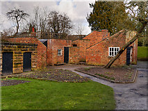 SJ8383 : Quarry Bank Mill, Outbuildings Behind the Apprentice House by David Dixon