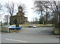 SE1321 : Car park, Rastrick by Humphrey Bolton