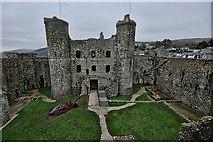 SH5831 : Harlech Castle by Phil Child