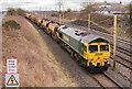 NY3662 : Departmental trains at Blackrigg - March 2017 (3) by The Carlisle Kid