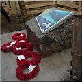 HP6309 : The memorial for the submarine HMS E49, Baltasound by Mike Pennington