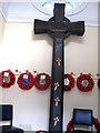 O1233 : Wooden Cross by kevin higgins
