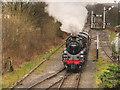SD7916 : 76084 Approaching Ramsbottom by David Dixon