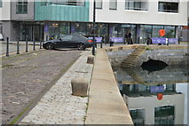 SX4854 : North Quay, Sutton Harbour by N Chadwick