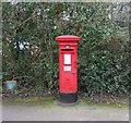 SP2780 : Elizabeth II postbox on Upper Eastern Green Lane, Upper Eastern Green by JThomas
