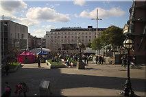 SE2934 : St Patrick's Day Celebration, Millennium Square by Mark Anderson