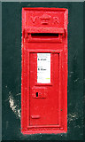 TM0591 : Victorian postbox by Evelyn Simak