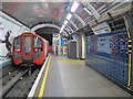 TQ2879 : Victoria tube station, Victoria Line - ceramic tiles by Mike Quinn