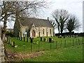 NZ1613 : St Hilda's Church and churchyard, Caldwell by Christine Johnstone