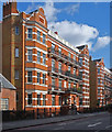 TQ2478 : Nevern Mansions, Warwick Road, London SW5 by Julian Osley