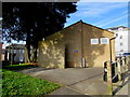 SY2998 : West Street public toilets, Axminster by Jaggery
