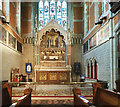 TQ2273 : Holy Trinity, Ponsonby Road, Roehampton - Sanctuary by John Salmon