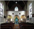 TQ2273 : St Joseph, Roehampton Lane, Roehampton, SW15 - West end by John Salmon