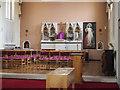 TQ2273 : St Joseph, Roehampton Lane, Roehampton, SW15 - Sanctuary by John Salmon