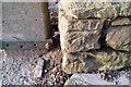 SO5195 : Ordnance Survey Cut Mark by Adrian Dust