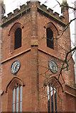 NS4927 : Clock Tower, Mauchline Parish Church by Billy McCrorie