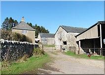 ST2509 : Panshayne Farm by Roger Cornfoot