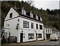 SO5200 : Four dormer windows and five satellite dishes, Main Road, Tintern by Jaggery