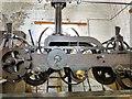 SJ9494 : Hyde Town Hall clock mechanism by Gerald England