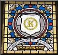 SJ9494 : Mayoral Window: Samuel Knowles by Gerald England