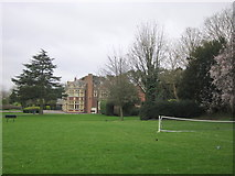 SP8633 : Bletchley Park Mansion From Tennis Court by Roy Hughes