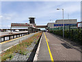 T1312 : Former Rail Station at Rosslare Terminal by David Dixon