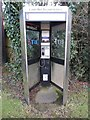 SP9207 : Former KX300 Telephone Kiosk at Buckland Common by David Hillas