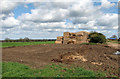 TM0091 : Crop fields by Grange Farm by Evelyn Simak