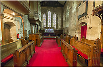 TA1181 : Chancel, St Oswald's church, Filey by J.Hannan-Briggs