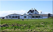 NU0445 : Berwick-upon-Tweed (Goswick) Golf Clubhouse by Russel Wills