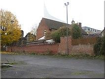 SU7273 : Back of St James by Bill Nicholls