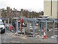 NT2471 : Building site at Newbattle Terrace by M J Richardson