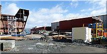NS3274 : Ferguson Marine shipyard reconstruction by Thomas Nugent