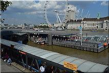 TQ3079 : Westminster Millennium Pier by N Chadwick