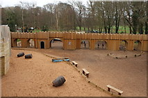 NS2209 : Kids Play Fort at Culzean Country Park by Billy McCrorie