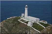 SH2082 : South Stack Lighthouse by Malcolm Neal