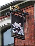 SO7875 : The White Swan (2) - sign, 37 Load Street, Bewdley, Worcs by P L Chadwick
