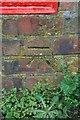 ST6216 : Benchmark, Barton Gardens, Sherborne by Becky Williamson