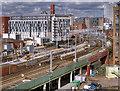 SJ8398 : Salford Central Railway Station by David Dixon