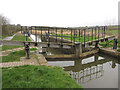 SS2104 : Lock on the Bude Canal by Gareth James