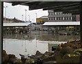 SJ9494 : Rainy day market by Gerald England