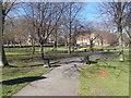 SE3406 : Churchfields Peace Gardens - Church Lane by Betty Longbottom