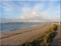 SW5031 : Cornish coast near Marazion by Gareth James