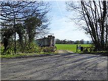 SU1091 : Field entrance near Dudgemore Farm by Robin Webster