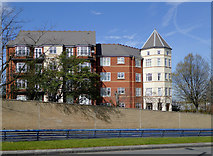 SO9097 : Apartments in Pennant Court, Wolverhampton by Roger  Kidd