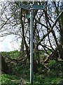 TL6630 : Footpath Junction Sign by Keith Evans