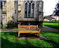 SY2998 : Diamond Jubilee bench in Axminster by Jaggery