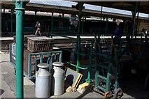 TQ3729 : Horsted Keynes railway furniture by Robert Eva